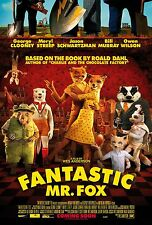Fantastic Mr Fox movie poster print : 11 x 17 inches : Roald  Dahl