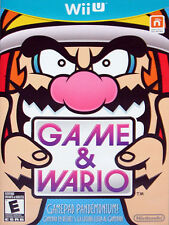 Game & Wario (Nintendo Wii U, 2013) DISC ONLY