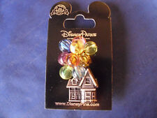 Disney * UP! - BEADED BALLOONS HOUSE * New on Card Character Trading Pin
