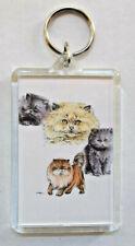 """New listing Persian Kittens Key Chain ~ 2""""x3"""" ~ New"""