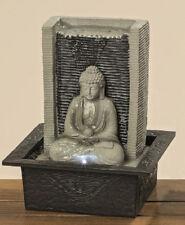 Buddha Brunnen Indoor Zimmerbrunnen mit LED Licht DEKO