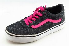 VANS Youth Girls Shoes Size 2 M Gray Athletic Fabric