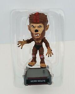 "Vtg 2000 Little Big Heads Weird Wolfie Universal Monsters 3"" Figure Sideshow Toy"