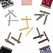 Ribbon Clamps or Ribbon Crimp Ends - Artisan Series - Shipped from USA