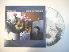 ♫ only french promo ♫ PONI HOAX : SHE'S ON THE RADIO [ CD SINGLE PORT 0€ ]