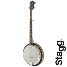 Stagg BJM30 DLH 5-String Bluegrass Banjo - LEFT HAND with REMO Heads