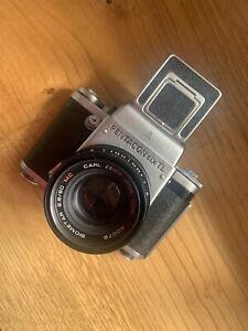 Pentacon Six TL with Carl Zeiss F2.8 80mm Lens Medium Format Vintage Camera