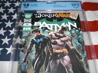 BATMAN  NO.99  CBCS  9.8  2020  DC  * L@@K *   *NEW IN MINT SLAB*  THE JOKER WAR
