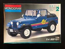 Monogram 1:24 Jeep CJ-7