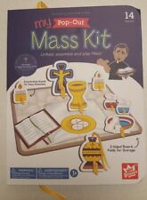 My Pop-Out Mass Kit Play Set by WEE BELIEVERS Free Shipping in the USA