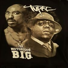 "Tupac Shakur, Notorious B.I.G. T-Shirt.Mens Sz 3XL. ""Trust No One"" Hip Hop Music"