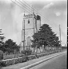 B/W 6x6 Negative Culmstock Devon Village Scene Church 1951 +Copyright  Y67