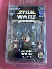 DISNEY Mickey Mouse Chip and Dale AS Luke Skywalker Ewoks STAR WARS WEEKEND 2013