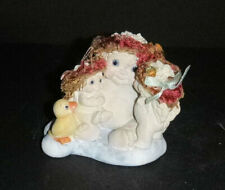 Dreamsicles Figurine A Kiss for Mama signed Kristen 1996