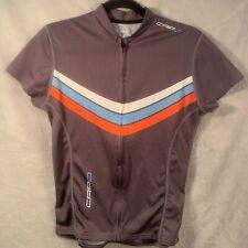 Capo Corsa Cycling Jersey Size Medium M Brown