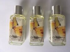 Chardonnay Refresher Oil By Colonial HomeScents x 3 9ml Bottles