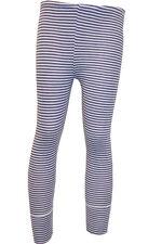 2x Gr.110/116 Kinder lange Unterhose Unterwäsche Geringelt rot-blau-weiß Leggins