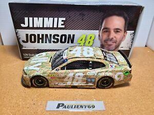 2019 Jimmie Johnson #48 Ally Patriotic Camo HMS Chevrolet 1:24 NASCAR Action MIB