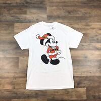 Vintage 90s MICKEY MOUSE Disney T Shirt Mens Sz Medium Christmas Mickey Adult