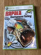 Rapala Trophies: Pro Tournament Fishing (Microsoft Xbox 360, 2006) Nice Disk ES