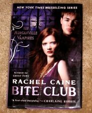 THE MORGANVILLE VAMPIRES BITE CLUB BY RACHEL CAINE HB.DJ 1ST EDITION NICE BOOK