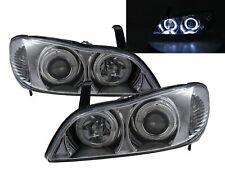 Cefiro A33 MK3 1998-2003 4D LED Halo Projector Headlight Chrome for NISSAN LHD