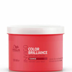 Wella Professionals Brilliance Treatment Mask Coarse Thick Hair 500ml