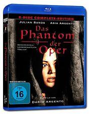 DAS PHANTOM DER OPER DARIO & Asia Argento Complete EDICIÓN BLU-RAY DVD GIALLO