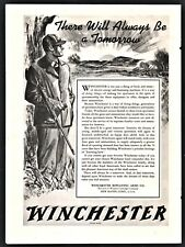 1942 Wwii Winchester Repeating Arms Ad There will always be a tomorrow