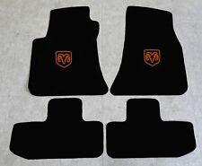 Autoteppich Fußmatten für Dodge Challenger ab Bj.2008 Velours Nubuk cognac Neu