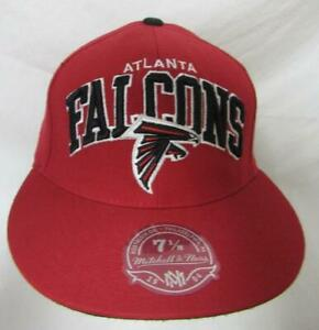 Mitchell & Ness Falcons Mens Size 7 1/8 or 7 1/4 Wool Baseball Cap Hat  E1 450