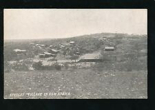 South Africa Germany GSW Africa SPEGLET Village c1900/10s? PPC