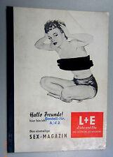 L+E Liebe und Ehe - das Deutsche Sexmagazin Girls Nude Nackte FKK SEX