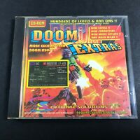 Vintage PC Games on CD-ROM Doom II 2 & Doom Extras Id Software More Levels