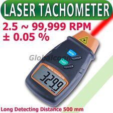 Risepro Tachimetro Laser Contagiri Ottico non Contatto 99.999RPM accelerare