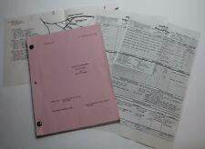 Freddy's Nightmares * 1988 Original TV Script, Nightmare on Elm Street TV Series