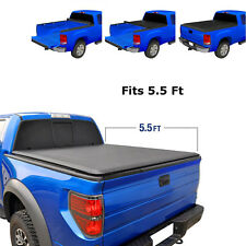 Roll Up Soft Tonneau Cover JDMSPEED 5.5' Short  Bed For Ford F-150 2004-2018