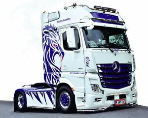 Mercedes-Benz Actros MP4 Giga Space Show -Truck 1:24 ITA3935 - italeri modellism