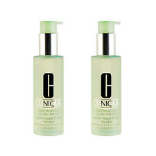 2XClinique Liquid Facial Soap 200ml Oily Skin Formula Combination Oily to Oily