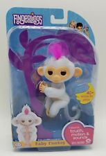 Fingerlings Baby Monkey Sophie WowWee White Pink Authentic Fingerling New In Box