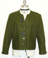 GEIGER LODEN JACKET Coat Green WOOL Austria DESIGNER Dress Suit 40 12 M B42""