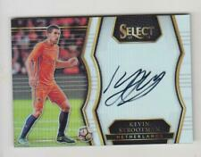 2017-18 Panini Select Soccer Auto card : Kevin Strootman