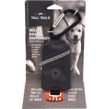 Tall Tails WASTE BAG DISPENSER w/ 2 Rolls of Bags Dog Pet Waste Removal