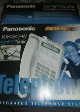 Panasonic Intergrated telephone system white KX-TS17-W