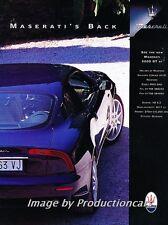 2000 Maserati 3200GT Coupe - Original Advertisement Print Art Car Ad J724