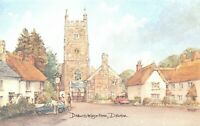 Art Postcard, Drewsteighton, Devon by David Skipp AJ8