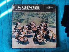Mazowsze - The Polish Song and Dance Ensemble Vo. 1 [SXL 0141] LP Record VG / G