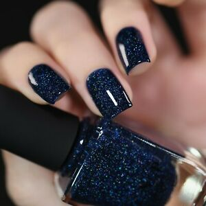 ILNP You Up? - Deep Navy Blue Holographic Nail Polish