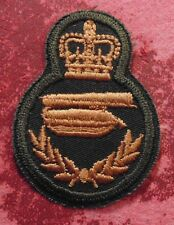Canadian Armed Forces trade qualification Bridge Layer technician badge level 4