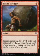 4x Titan's Strength | NM/M | Magic Origins | MTG